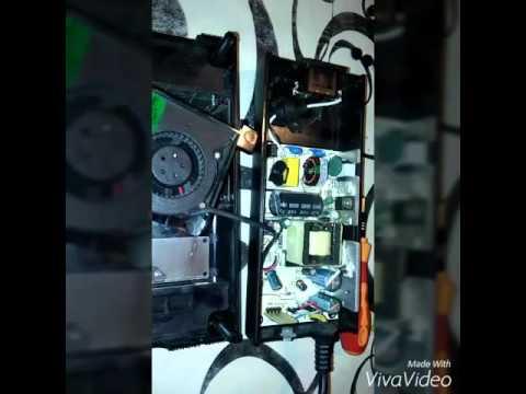 XBox 360 se apaga (sobrecalent. fuente)