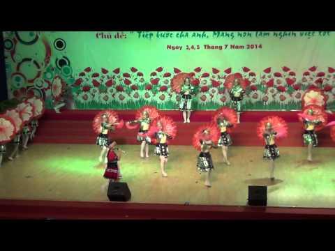 CT Dự thi liên hoan múa hát thiếu nhi TP năm 2014 - VÀNH HOA ĐỎ ĐIỆN BIÊN - NTN Gò Vấp