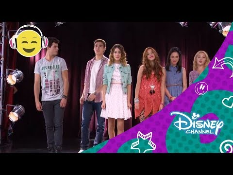 Disney Channel España | Videoclip Karaoke Violetta - Algo Se Enciende