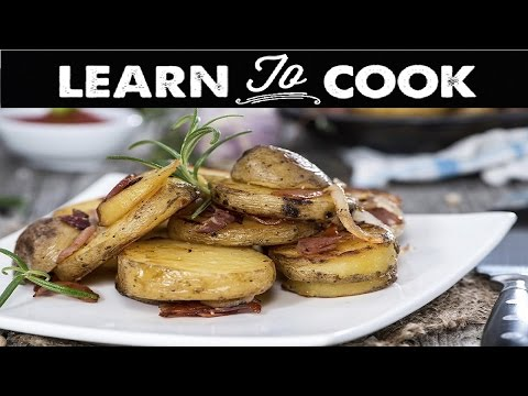 How to Make Pan Fried Potatoes