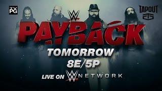 Watch WWE Payback 2016 tomorrow, live on WWE Network