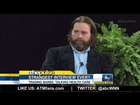 ABC World News Now - President Obama and Zach Galifianakis: 'Between Two Ferns'
