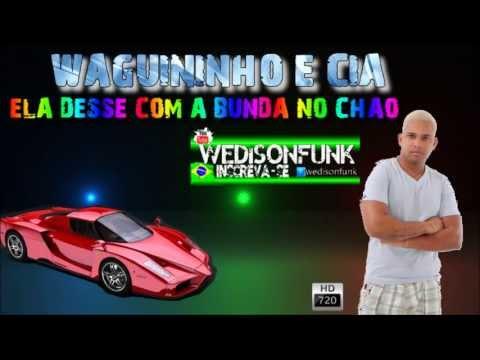 Mc Waguininho e Cia - Ela Desse Com a Bunda no Chao [ Lançamento 2013 ]