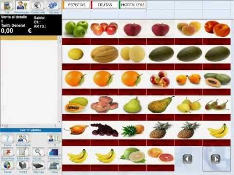 Techni-web TPV y programa para fruterías