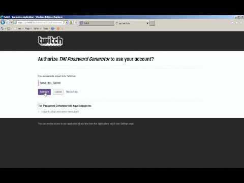 Connect Twitch Through IRC (Pidgin, mIRC, X-Chat, HexChat)