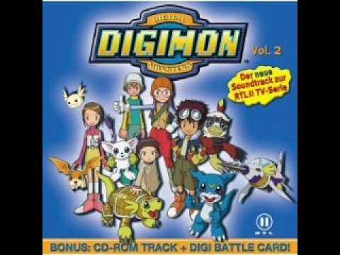 Digimon 02 Soundtrack -2- Wir drehn auf (German/Deutsch), ♥ Digimon 02 Soundtrack -2- Wir drehn auf (German/Deutsch) ♥ Leadgesang: Fred Röttcher Song-Text Unser Ziel ist unbekannt und überall in diesem Land lauern G...