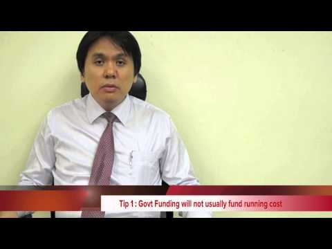 Funding Singapore - not fund running cost but infrastructure cost | Free Money and Bonus