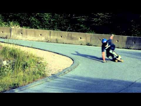 Kurtis Dawe longboard 2013