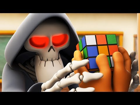 Spookiz | Solve the Puzzle - Rubik's Cube | 스푸키즈 | Funny Cartoon | Kids Cartoons | Videos for Kids