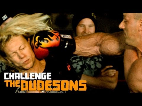 CHALLENGE THE DUDESONS EP3 - Take A Punch