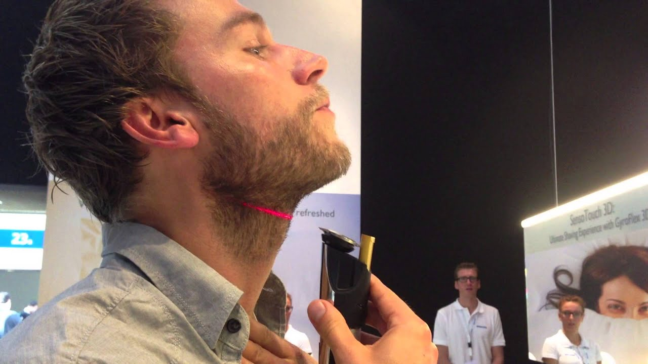 hands on with the philips laser beard trimmer 9000 youtube. Black Bedroom Furniture Sets. Home Design Ideas