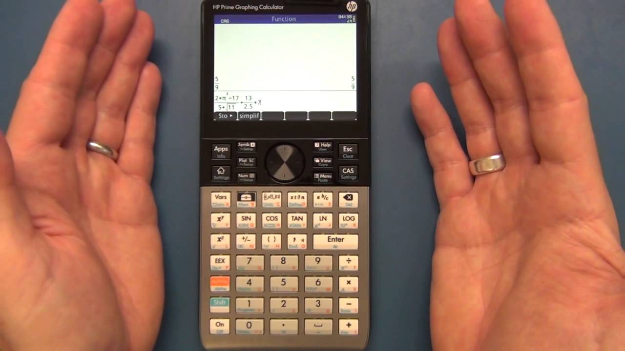 Cam 1 Hp Prime Graphing Calculator Arrival And Review