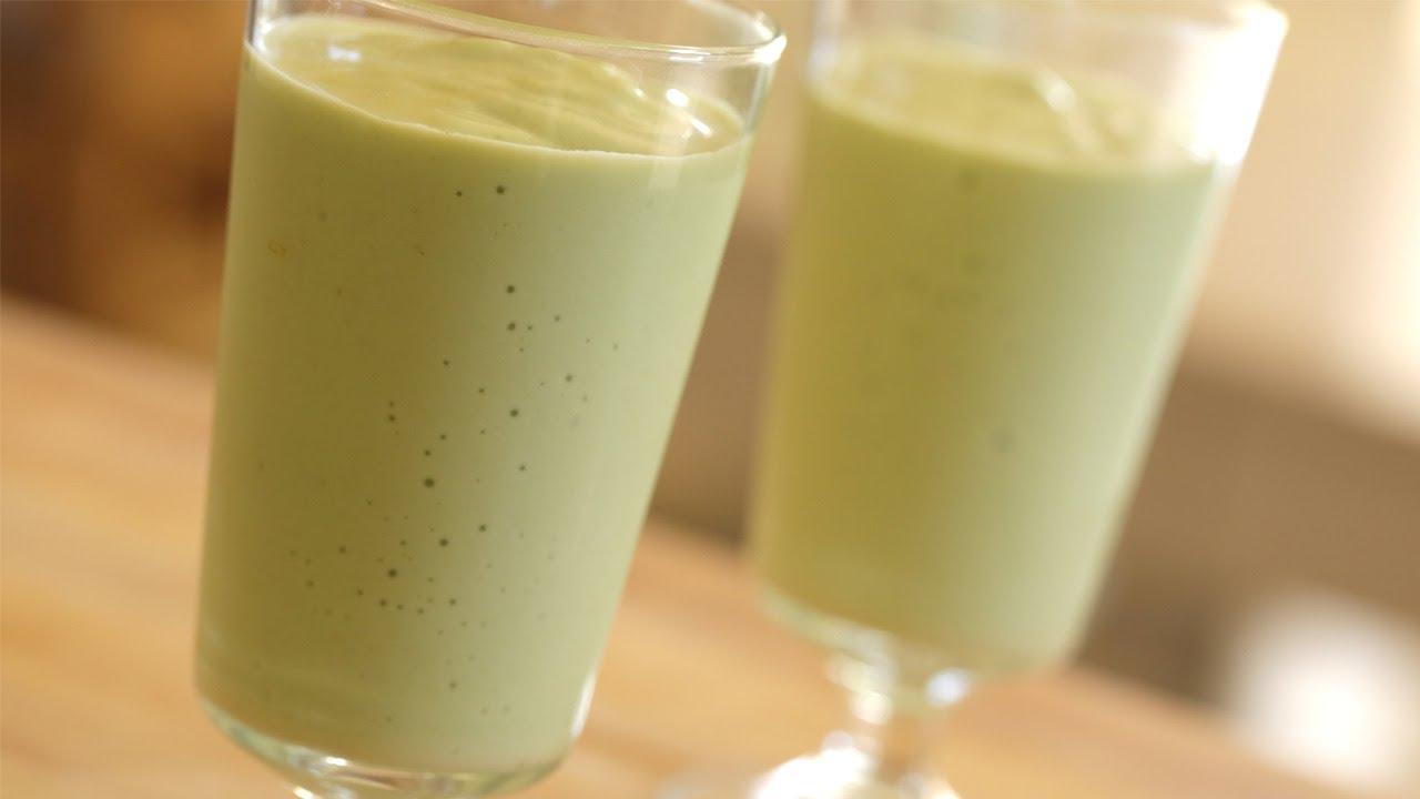 Avocado Milkshake: Recipe || KIN EATS - YouTube