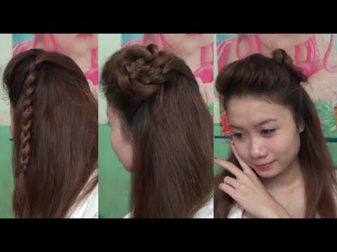Hairstyles - 2 Kiểu Tóc Phong Cách Tiểu Thư Đáng Yêu