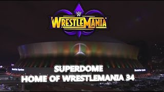 Tour of the SUPERDOME the home of WRESTLEMANIA 34