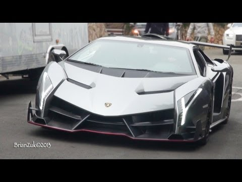 The $4.5 Million Lamborghini Veneno