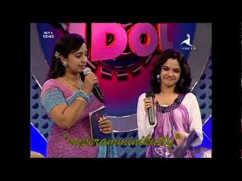 malayalam actress sona nair at a reality show