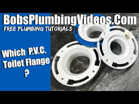 Choosing The Right P V C Floor Flange Toilet Repairs