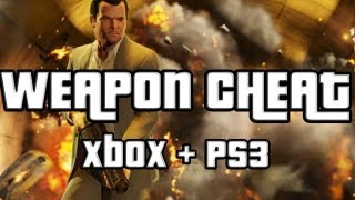 GTA 5 Weapons Cheat GTA V Weapon Cheat Code Xbox 360 And Ps3