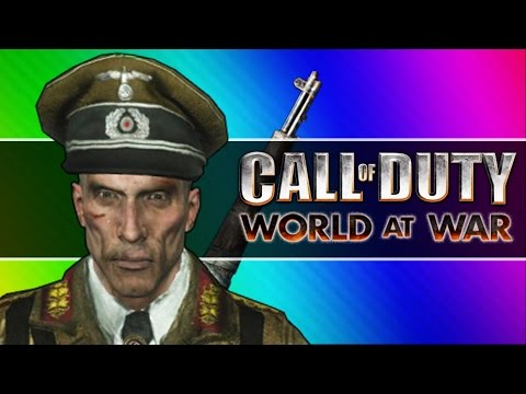 Zombie Walk! (Call of Duty WaW Zombies Funny Moments, Custom Maps, Mods)