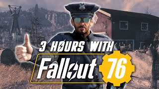 We Played 3 Hours Of Fallout 76