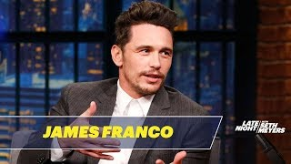 James Franco Shares Tommy Wiseau's Personal Voice Memo