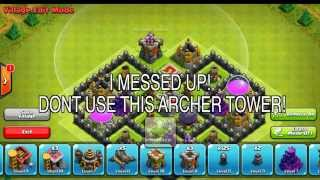 Clash Of Clans TH8 BEST TOWN HALL 8 FARMING BASE (4