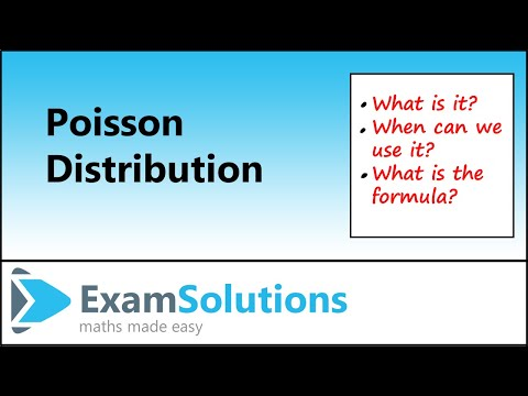 Poisson Distribution - Introduction : Exam Solutions