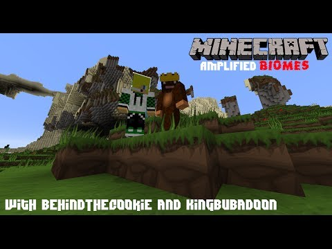 Minecraft: AMPLIFIED BIOME Survival | Episode 2: Exploring the NPC Village