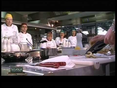 La Scuola - Cucina di classe 1 - Ricciola con carciofi e pomodorini - Chef Christoph Bob