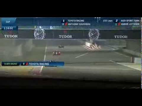 Pecom Racing P2 Crash @ 2013 WEC 6h of Bahrain