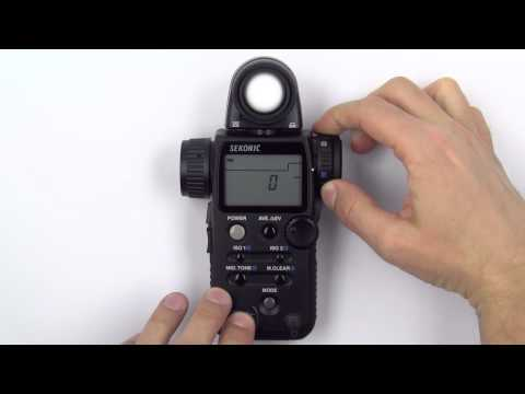Sekonic L-758Cine DigitalMaster Light Meter