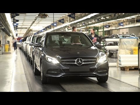 2014 Mercedes-Benz C-Class Production