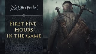 First 5 Hours in Life is Feudal: MMO
