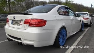 Modified BMW M3 with Akrapovic Exhaust! videos