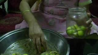 Making Nimboo Achaar Www.inHouseRecipes.com