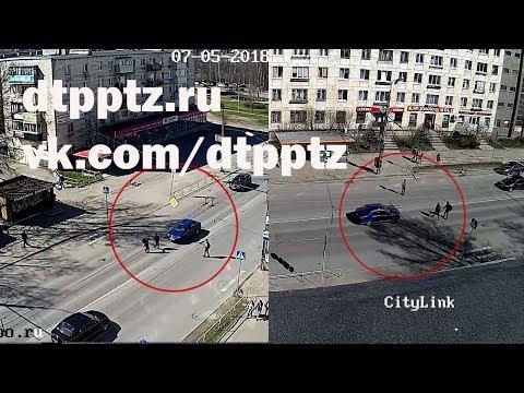 На улице Маршала Мерецкова легковой автомобиль сбил двух подростков