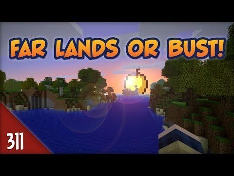 Minecraft Far Lands or Bust - #311 - GOLDEN APPLE
