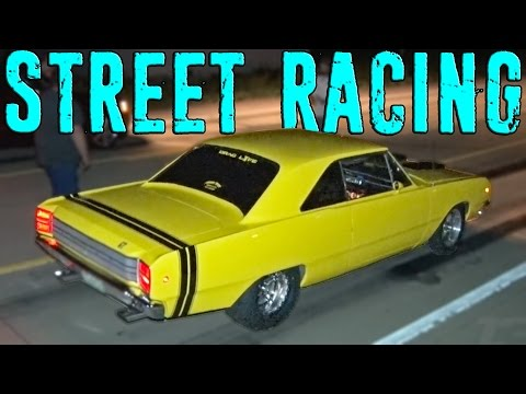 Missouri STREET RACING - NASCAR-Powered DART vs Procharged JEEP!?