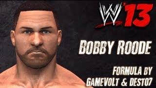WWE '13 Bobby Roode CAW Formula By GaMeVoLt & Dest07