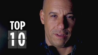 Top Ten Fast & Furious 6 Clips (2013) Vin Diesel Movie