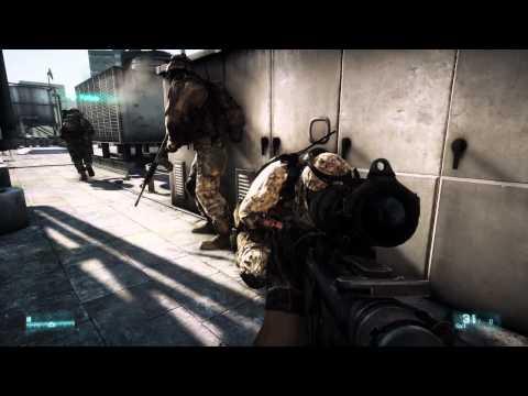 Полный 12-ти минутный видеоролик игры  Battlefield 3