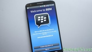 Tutorial Blackberry Messenger (BBM) Para Android