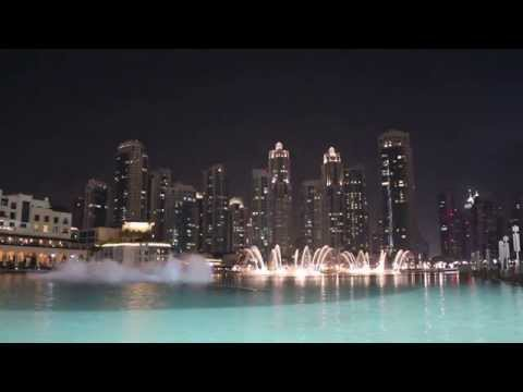 Experience The Dubai Fountain 2014