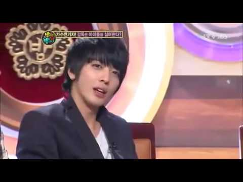Wooyoung and Yonghwa speak english