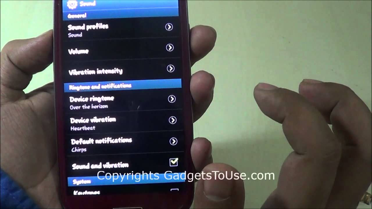 WINDOWS PHONE TURN OFF VIBRATE