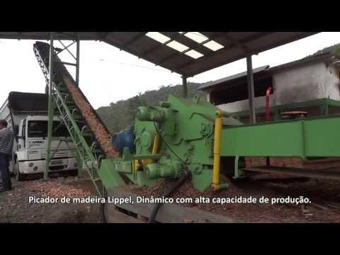 Picador de Madeira PTL 240 x 500 - Alta produção de cavacos
