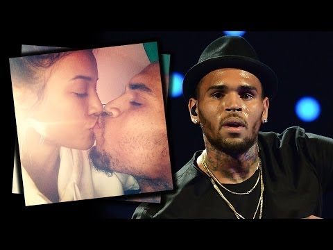 Chris Brown Smokes and Kisses Karrueche After Rehab