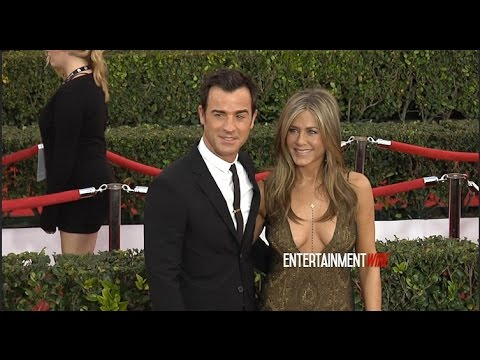Jennifer Aniston, Justin Theroux Arrive At 21st Annual Screen Actors Guild Awards Red Carpet