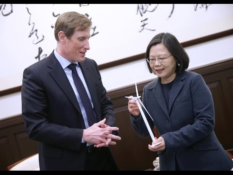 President Tsai meets delegation from DONG Energy of Denmark